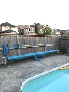 Pool Solar Blanket and Roller