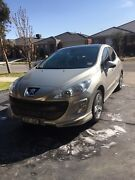 2009 Peugeot 308 Leather, Moon roof 2.0 turbo diesel hdi Craigieburn Hume Area Preview