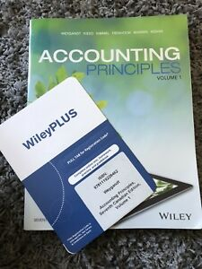 Accounting principles - volume1