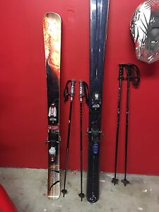 Twin tip & Powder skis