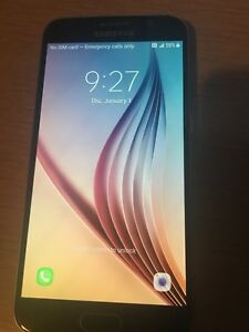 Samsung Galaxy S6 32 gb on Bell