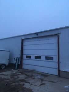 Heated shop space for rent