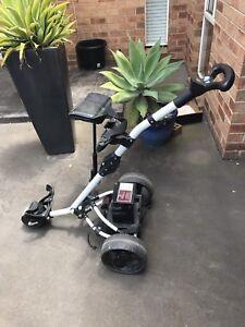 Motorised golf cart - brand new battery