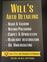 WILL'S AUTO DETAILING