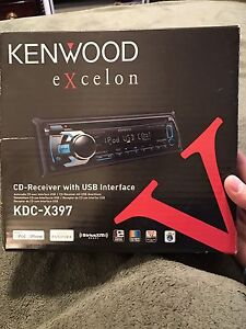 Kenwood excelon stereo system.