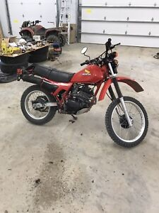 Mint 1983 Honda xl 250