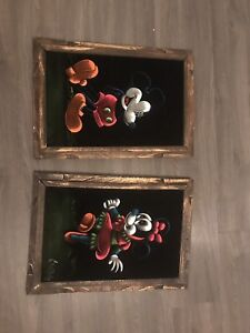 info of these vintage Mickey & Minnie paintings??