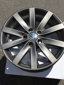 4 mags VW Jetta 17""