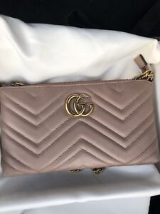 Gucci Marmont mini wallet on chain
