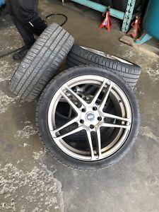Icon rim 5 x 114.3  with Michelle tire pilot Sports