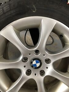 BMW OEM set of 4 rims with winter tires 16 inch