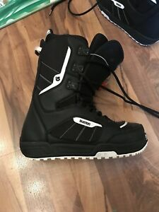 Snow board boots.