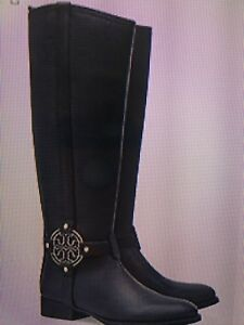 Tory Burch Amanda Riding Boots Size 6.5