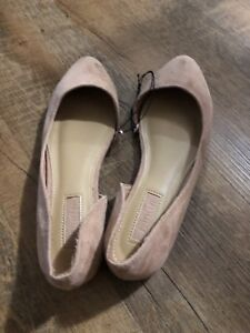 New Forever 21 flat shoes pink