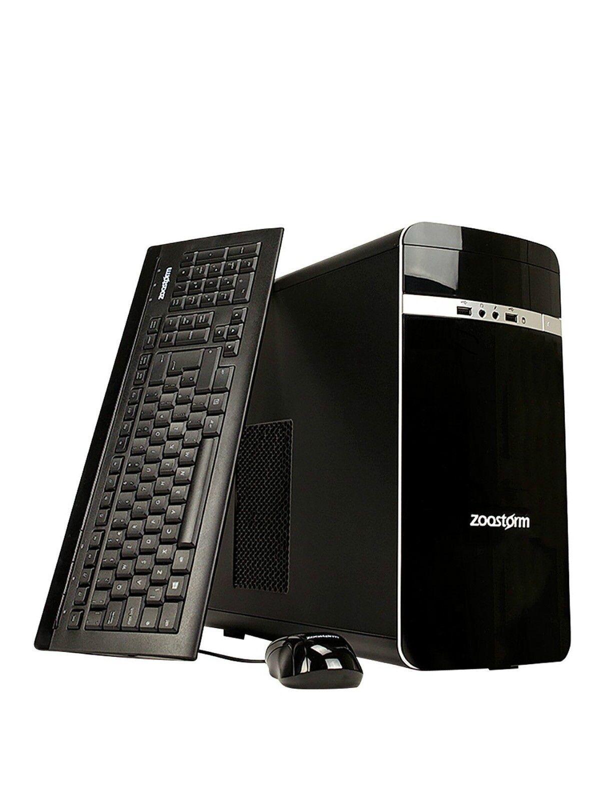Zoostorm Pentium G3260 Dual Core Desktop PC, 1TB HDD, 8GB ...