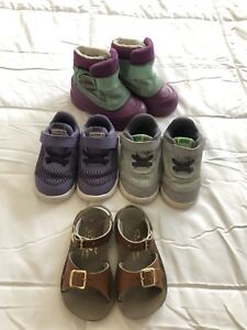 Toddler size 6 shoes, 4 pairs