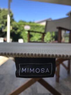 Timber Directors Chair x 2 - Mimosa