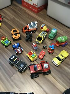 Assortment of trucks
