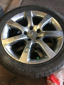 INFINITI G35 RIMS ON TIRES