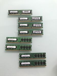 Assorted PC Computer Memory DDR2 RAM