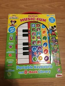 Mickey Mouse Music Theme story book & piano toy