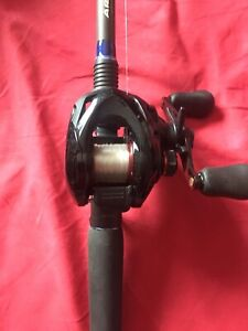 Shimano Caenan baitcast reel with ardent edge 7' MHF action