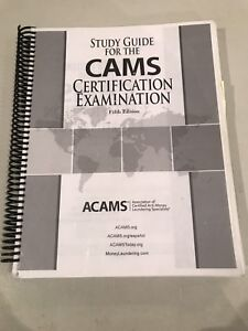 Study Guide For Cams