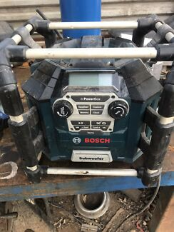 Bosch powerbox radio