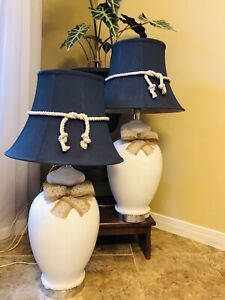 31 inch matching porcelain lamps