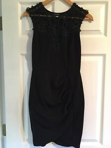 Black dress size small from Eclipse