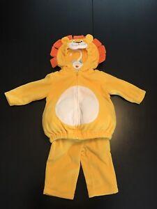 Costume de lion(ne) pour bébé grandeur 3-6 mois