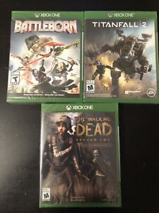 3 Xbox One games new / sealed