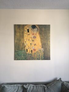 The Kiss by Klimt Wall Canvas*SOLD PPU
