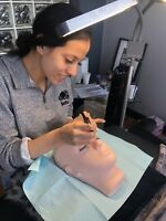 Full day eyelash extension certification course on special $475!