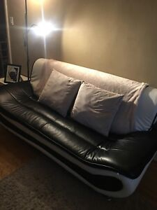 Black & white couches  moving sale