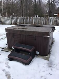 Electrical hookup for hot tub