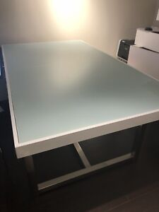 Mint Glass Dining Table