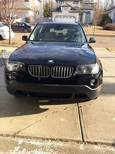 2007 BMW X3-3.0I excellent condition $7800 OBO 780-886-9941