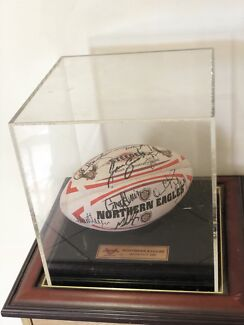 Northern eagles signed ball