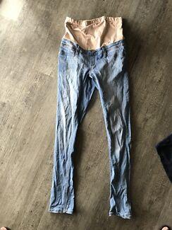 Maternity jeans skinny denim size 12