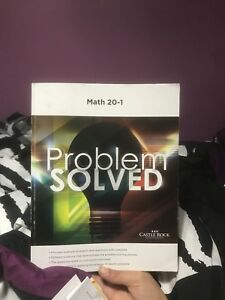 Math 20-1  Problem Solved