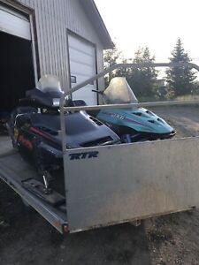 2 Snowmobiles for sale