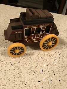 Wells Fargo & Company Stage Coach Coin Bank Rubber