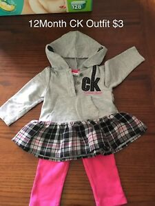 12 Month Calvin Klein outfit
