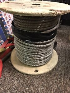 3/8 in. x 250 ft Stainless Steel Cable