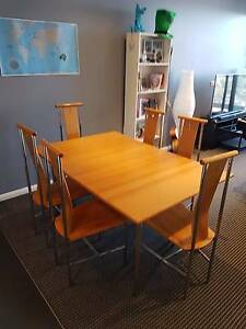 6 Seater Table and Chairs Zetland Inner Sydney Preview