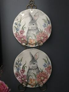 Rabbit decorative wall plates