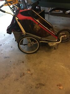 Chariot ski and bike stroller