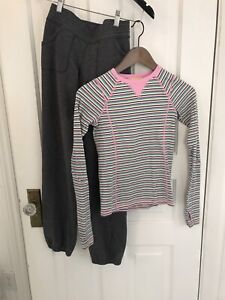 Ivivva Lot - Top and Pants - Size 10