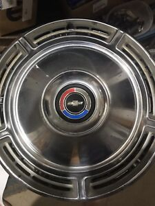 VINTAGE CHEVY CHEVELLE CORVAIR HUB CAPS